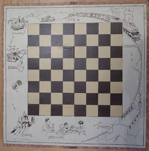 1920s Force Draughts Board (1)