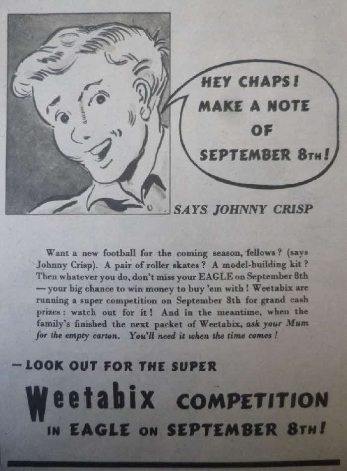 1950 Weetabix Eagle Competition