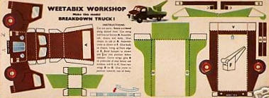 1955 Weetabix workshop series 4 Breakdown Truck (betr)
