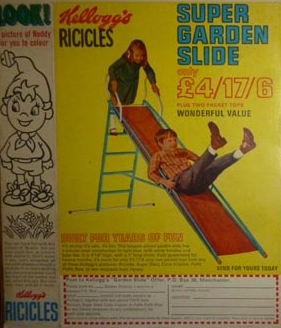 1969 Ricicles Super Garden Slide (betr)