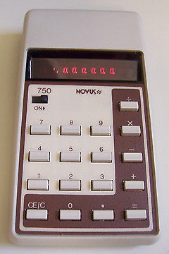 1976 Cornflakes Novus 850 Calculator