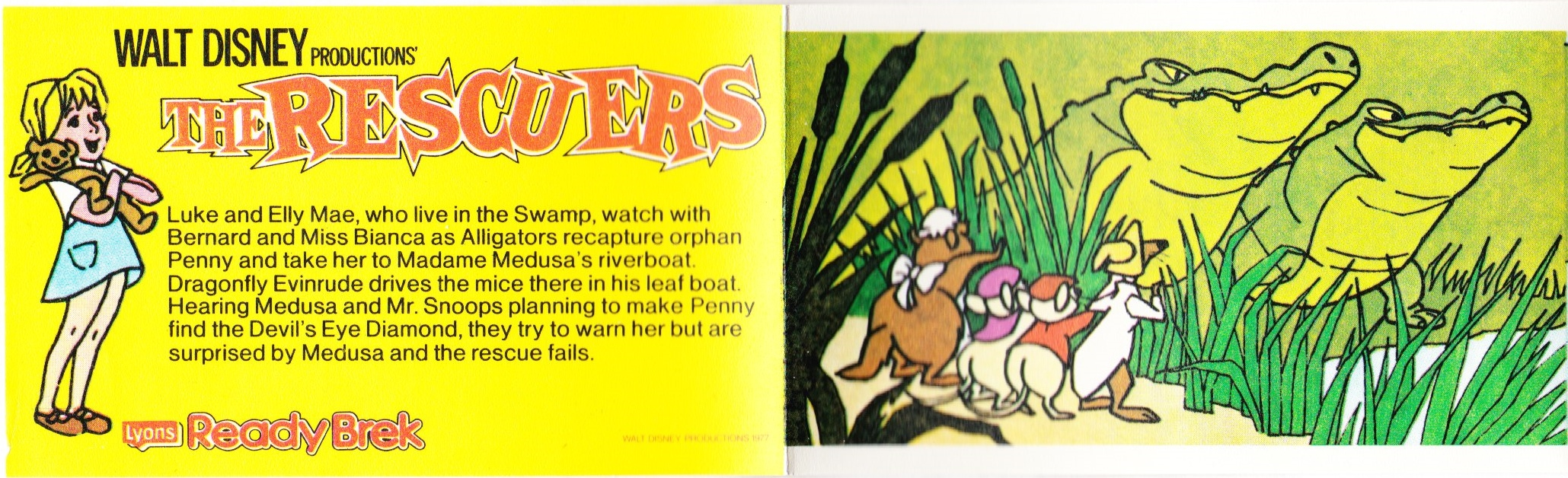 1977 Ready Brek Rescuers transfers strip 3 (2)