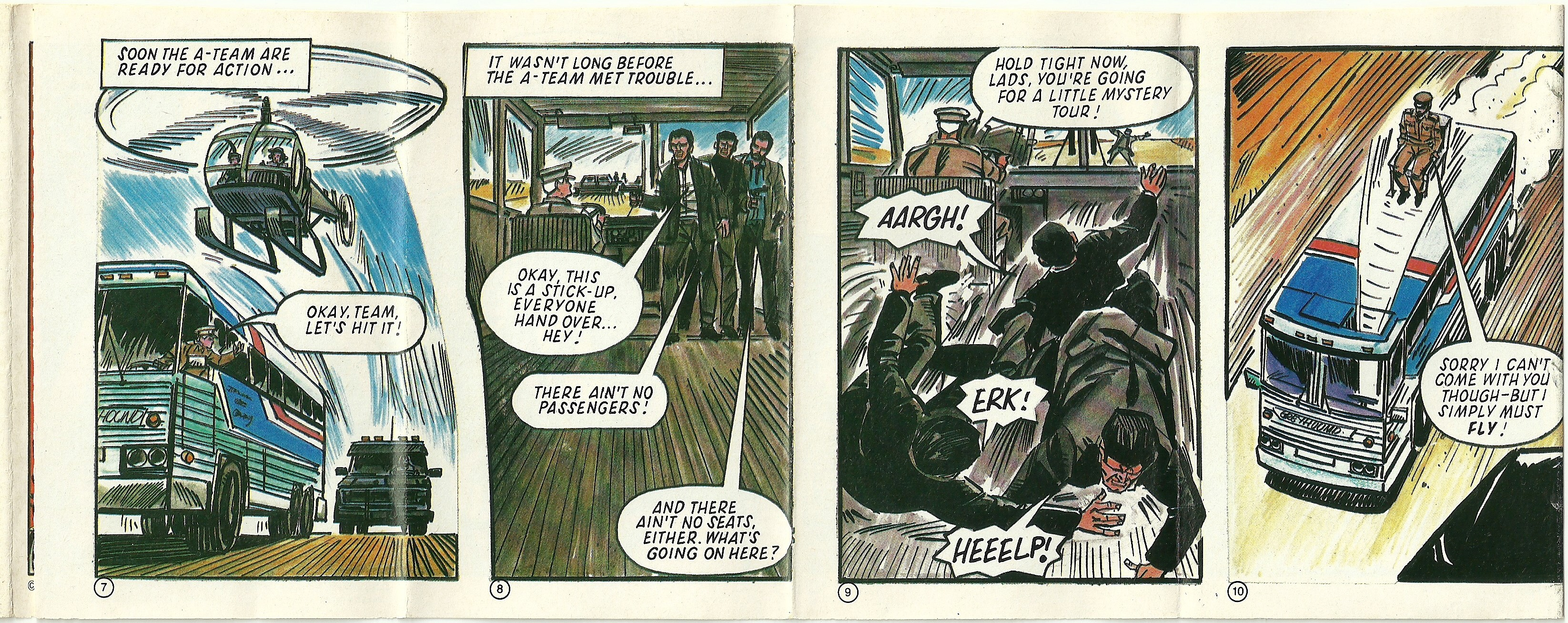 1985 Shreddies A Team Comic Highway Robbery (3)