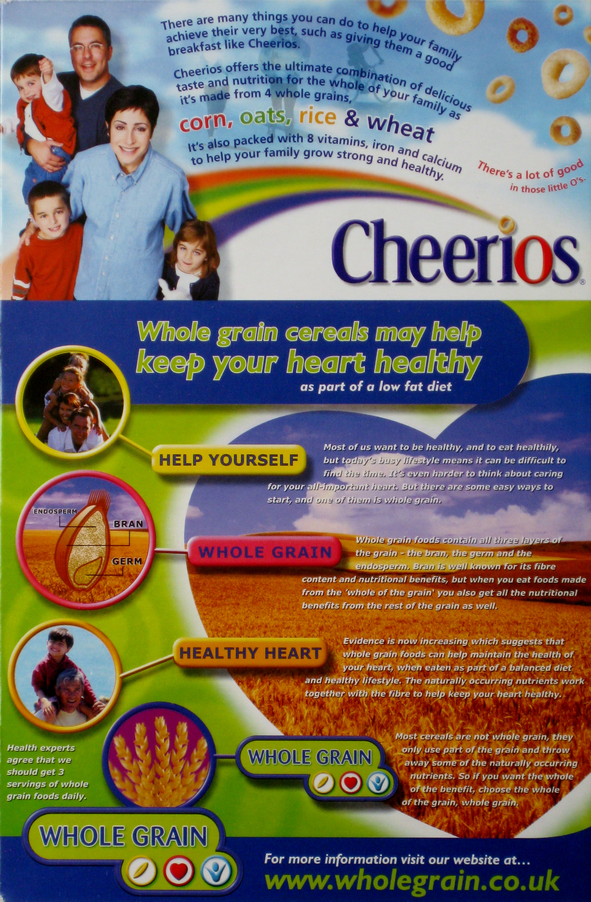 2000 Cheerios General health