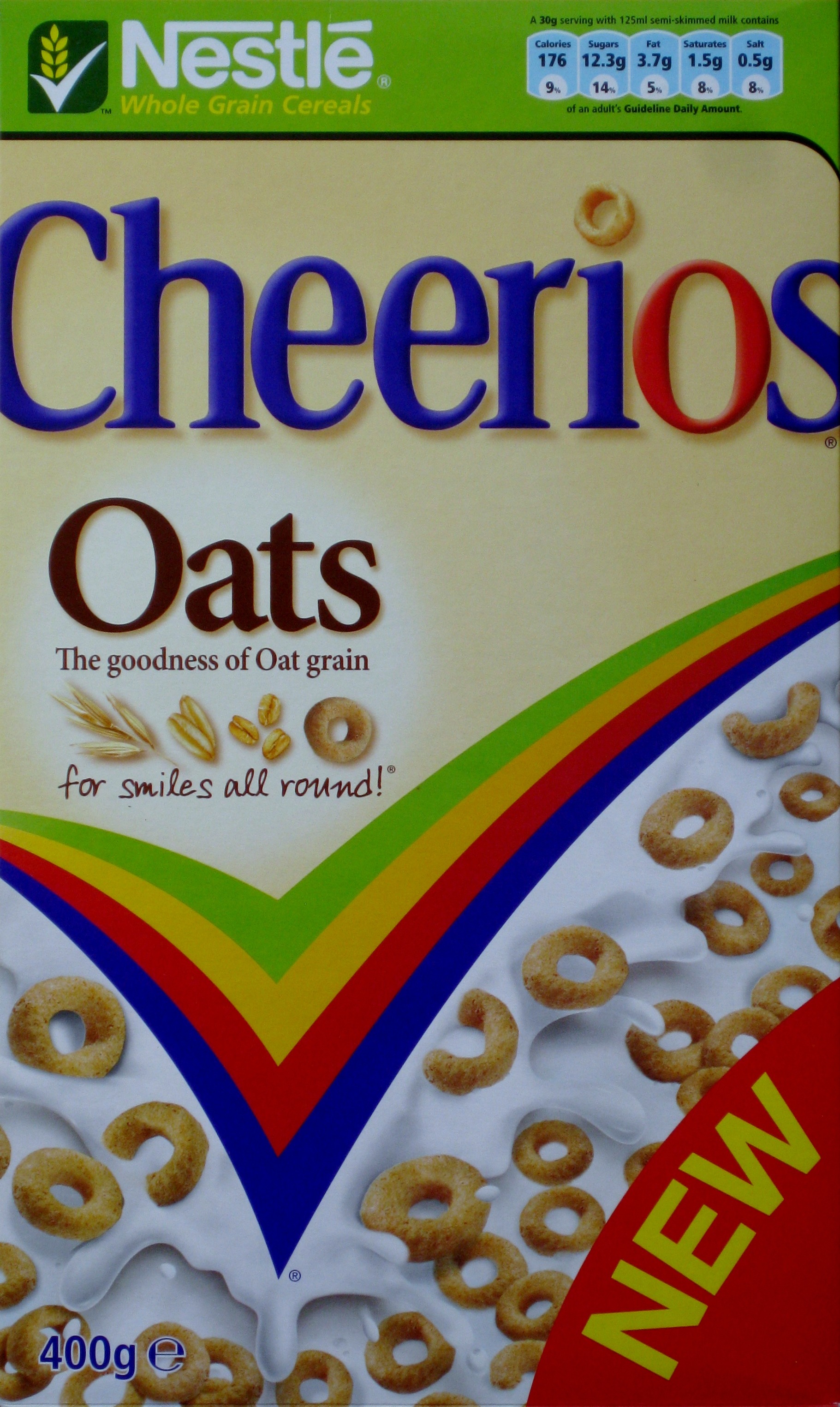 2007 Cheerios New Oats Front