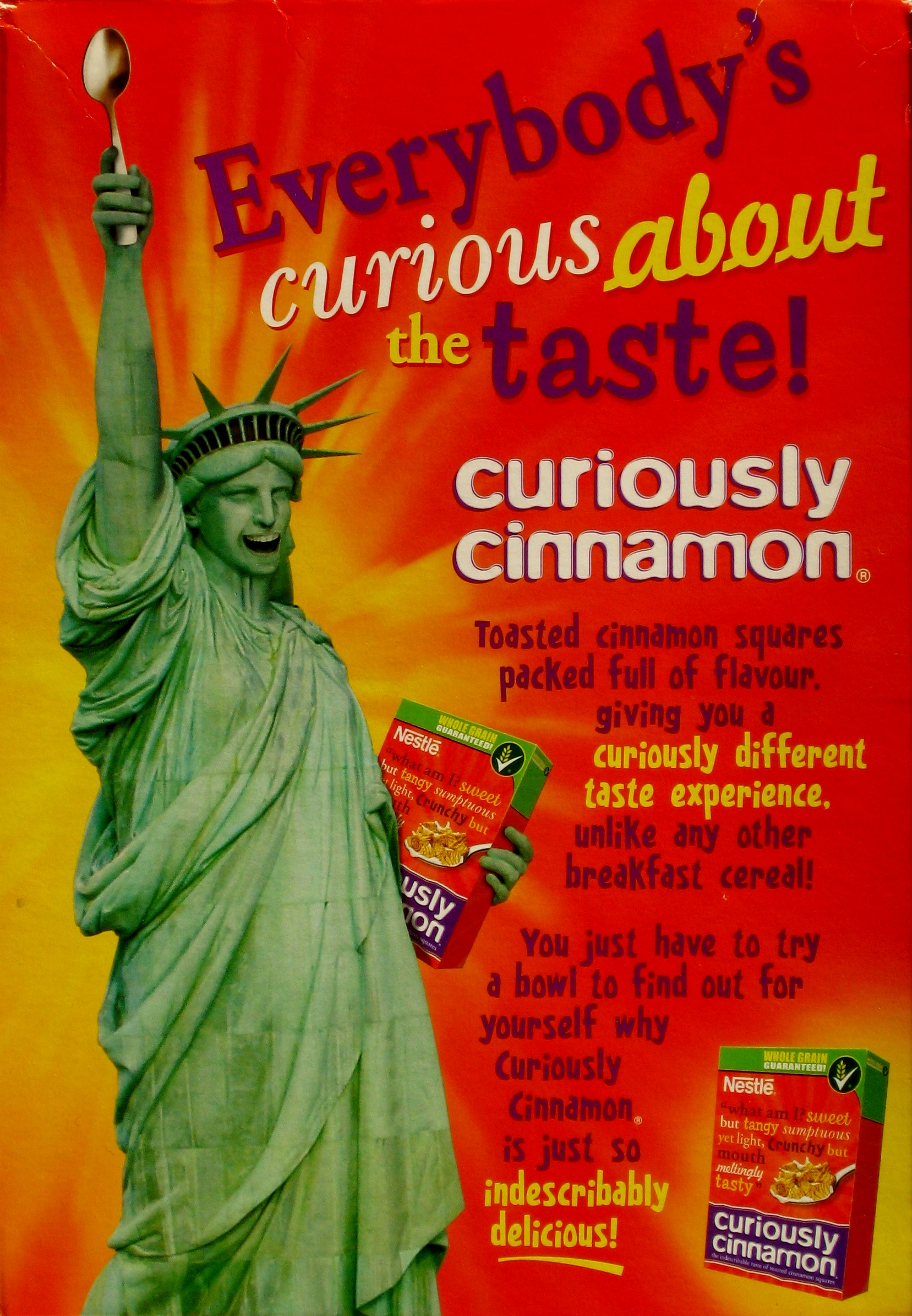 2009 Curiously Cinnamon - name change back
