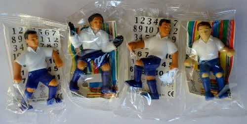 2000 Shreddies Euro 2000 Footballers - set mint