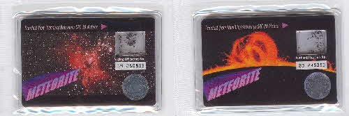 2001 Golden Nuggets Meteorite cards 3