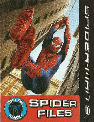 2007 Golden Nuggets Spiderman 3 Activity Comic2
