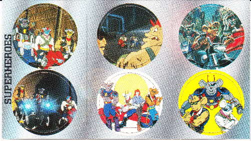 1995 Shreddies Biker Mice from Mars Pogs (1)