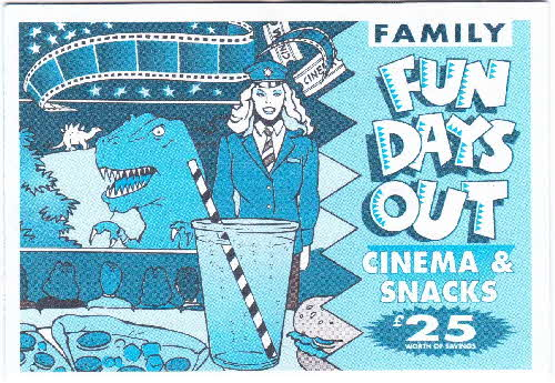 1994 Cheerios Family Fun Days Out Cinema