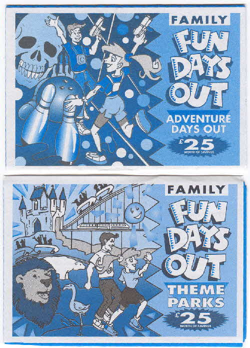 1994 Cheerios Family fun day out vouchers