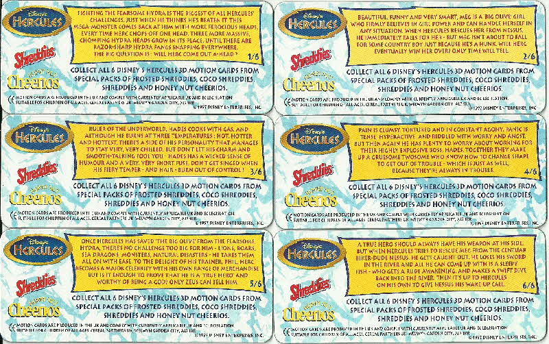1997 Cheerios Hercules 3D Motion Card (4)