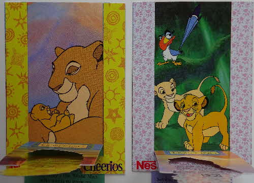 1994 Cheerios Multi Lion King Pop Ups 2 (3)