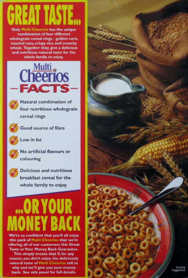 1994 Cheerios Facts or Your Money Back