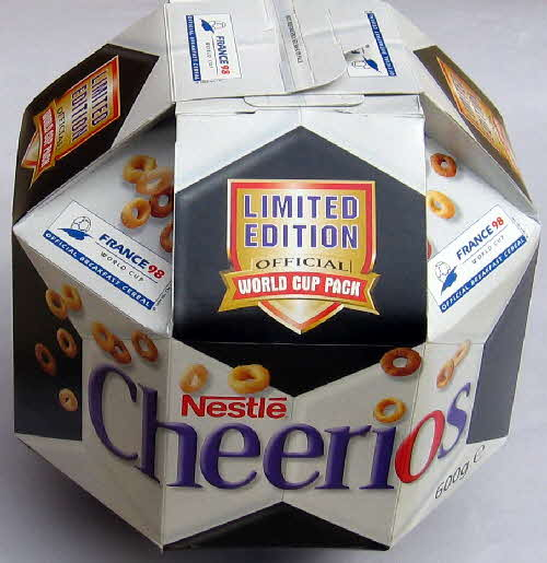 1998 Cheerios Football pack