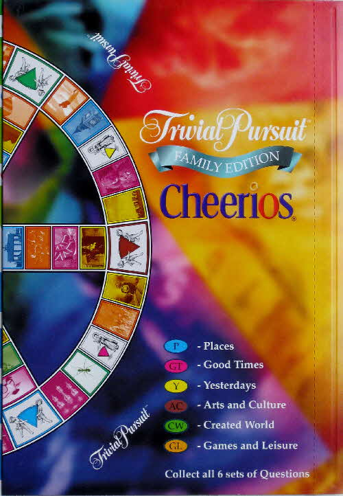 2000 Cheerios Trivial Pursuit pack