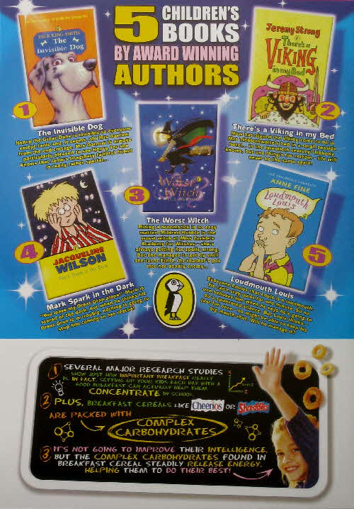 2002 Cheerios Free Puffin books (2)