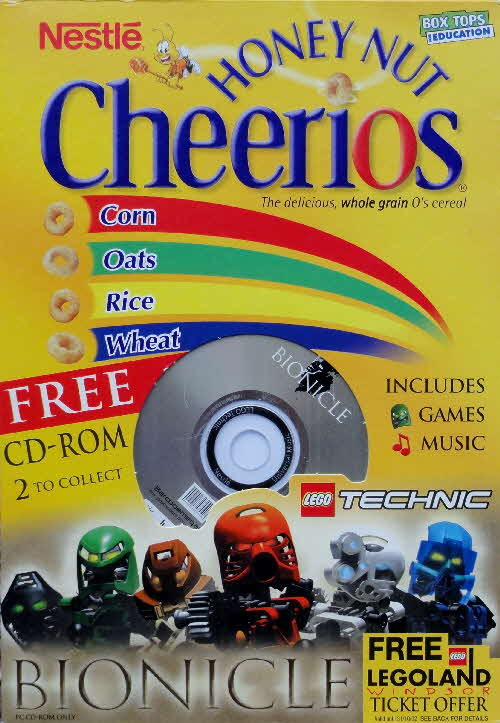 2001 Cheerios Bionicle CD Rom - Technic