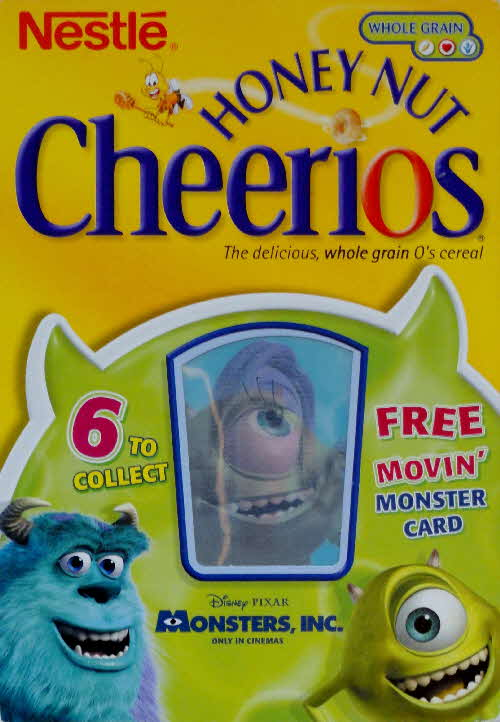 2001 Cheerios Monsters Inc Moving Cards front (2)