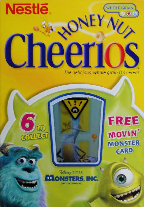 2001 Cheerios Monsters Inc Moving Cards front (3)