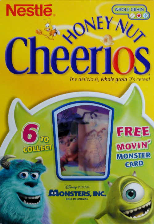 2001 Cheerios Monsters Inc Moving Cards front (4)