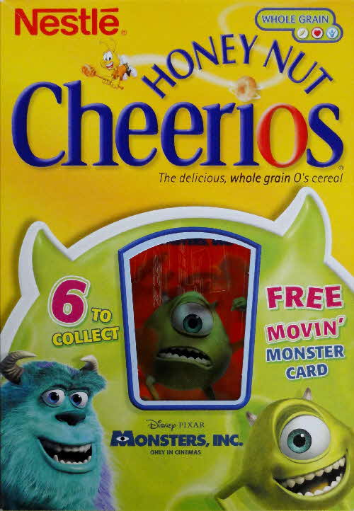 2001 Cheerios Monsters Inc Moving Cards front (5)