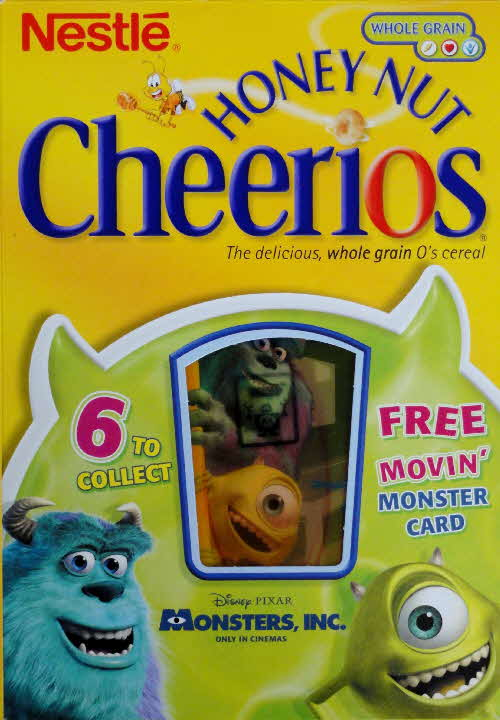 2001 Cheerios Monsters Inc Moving Cards front (6)