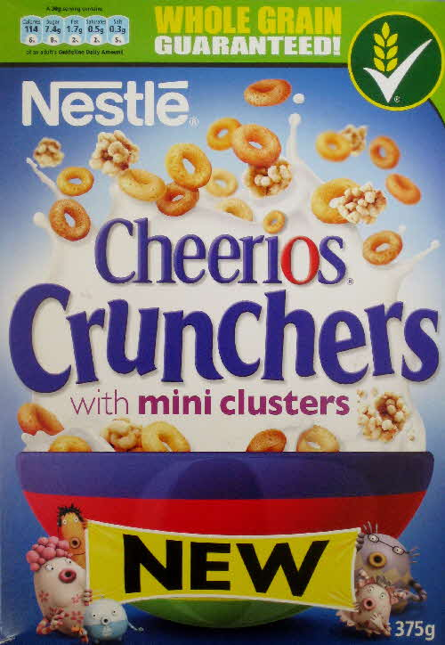 2011 Cheerios Crunchers New front