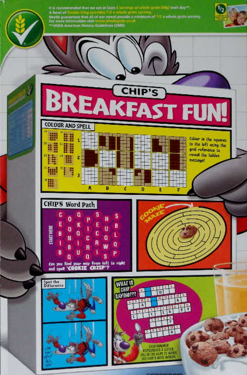 2011 Cookie Crisp Chips Breakfast Fun
