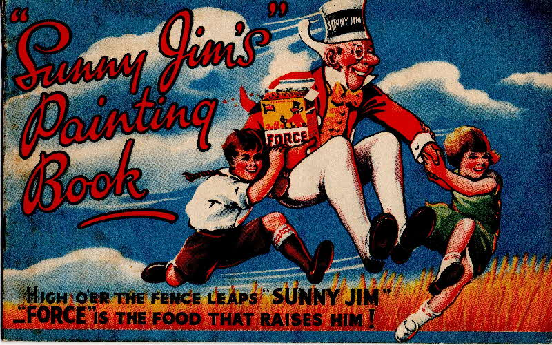 1939 Force Sunny Jim Painting Book