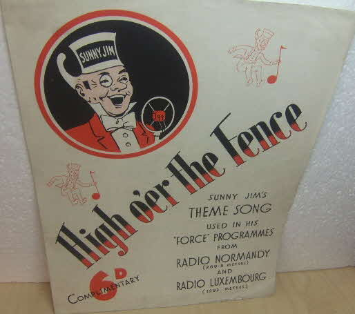 1930s Force Song Sheet (1)