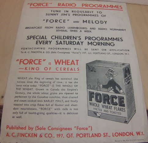 1930s Force Song Sheet (3)