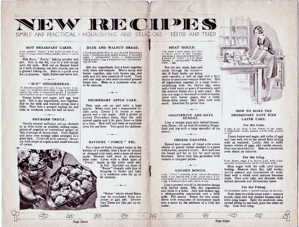 1940s Force Original Housewifes recipes (4)
