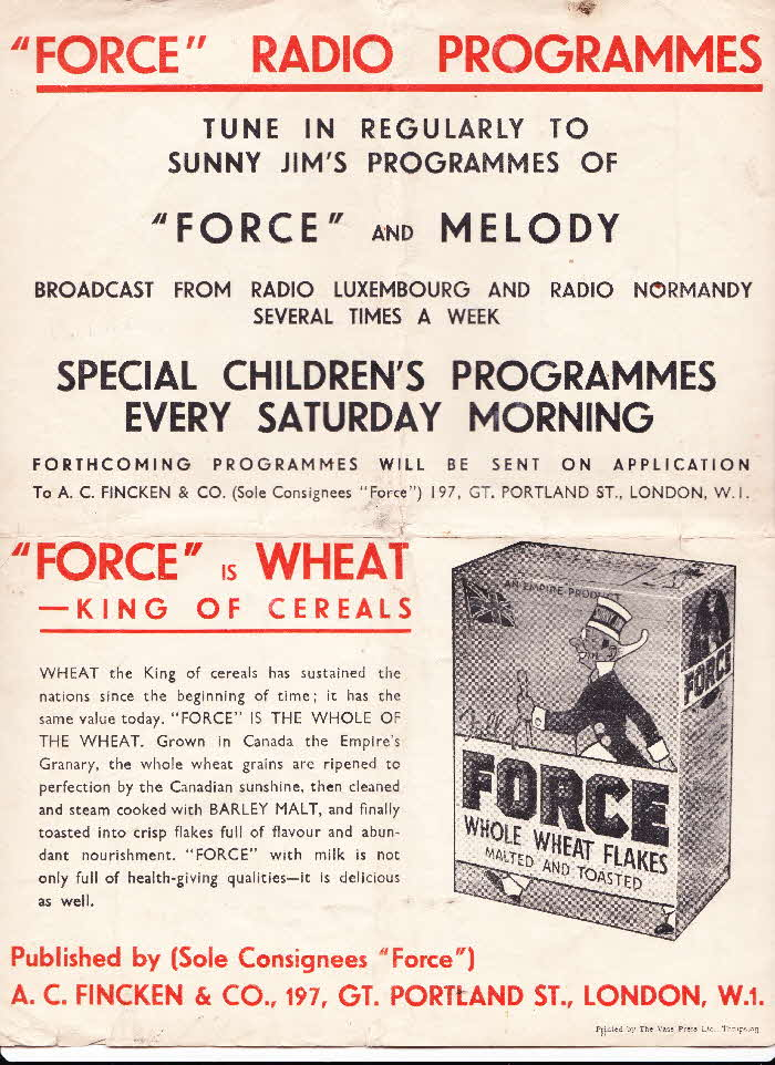 1920s Force Sheet Music High O'er the Fence (2)