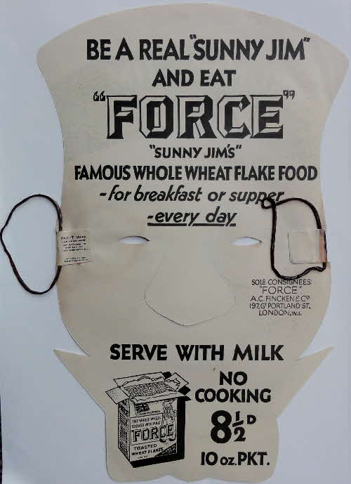 Force Sunny Jim Mask 1950s (1)