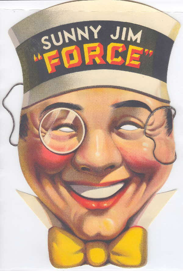 Force Sunny Jim Mask 1950s