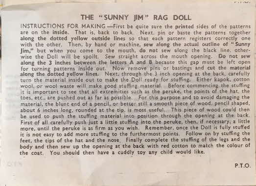 1970s Force Rag Doll Instructions (2)