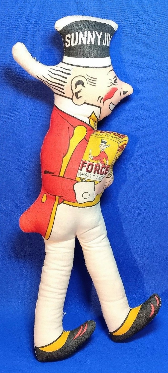 Red Cheeked Sunny Jim Doll (2)