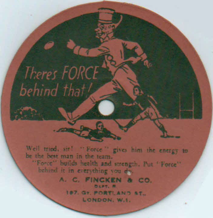 1930s Force Cardboard Record (4)