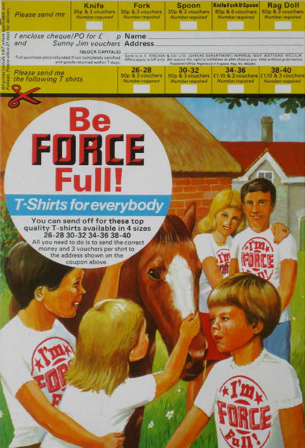 1974 Force T Shirt Force Full