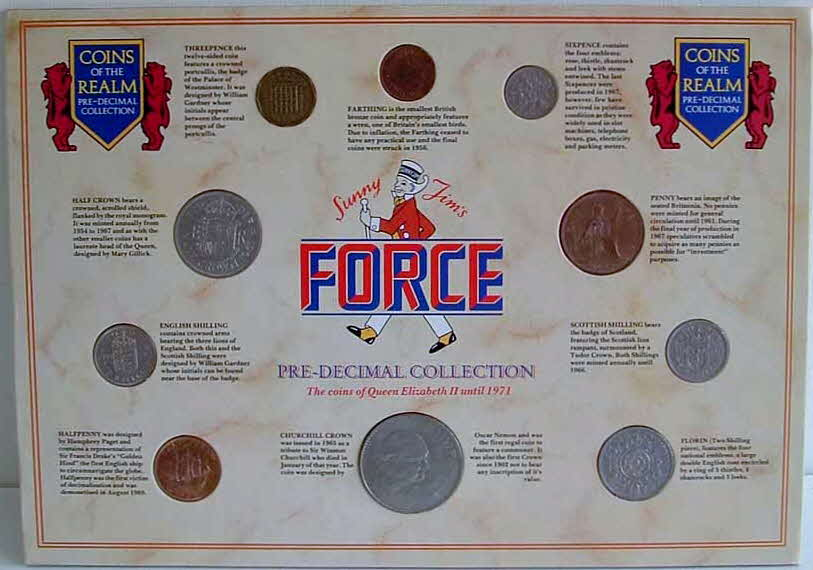 1971 Force Coin set