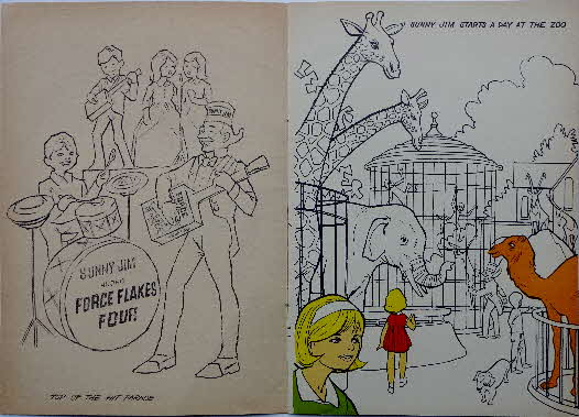 1971 Force Sunny Jims Painting Book (3)