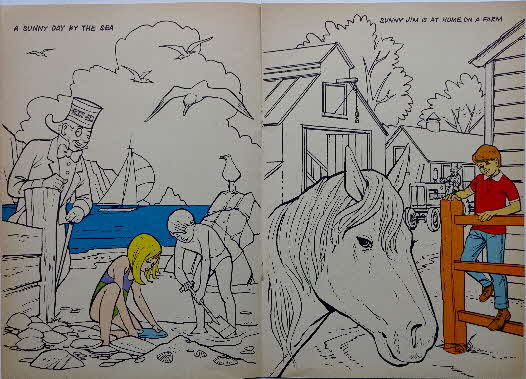 1971 Force Sunny Jims Painting Book (4)