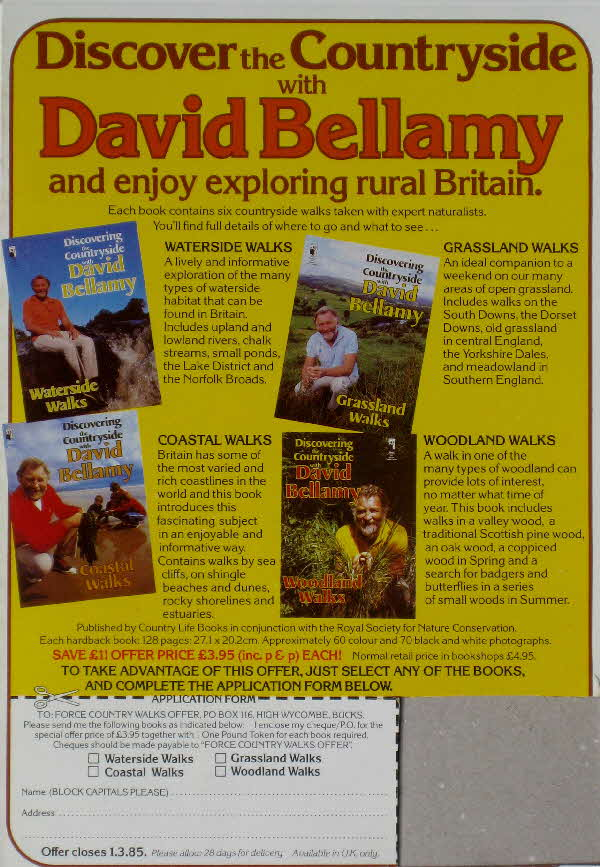 1984 Force Discovery Countryside with David Bellamy