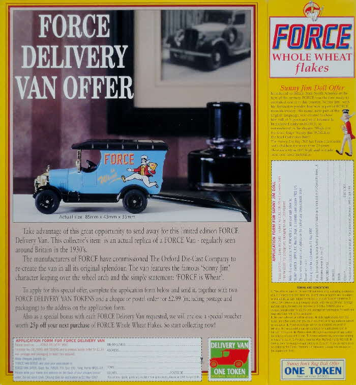 1996 Force Oxford Die Cast Van (2)