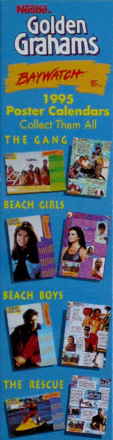 1995 Golden Grahams Baywatch Calendar (2)