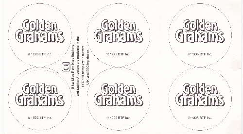 1995 Golden Grahams Biker Mice from Mars Pogs