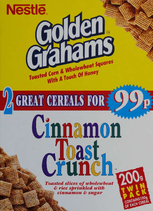 1996 Golden Grahams Twin pack front