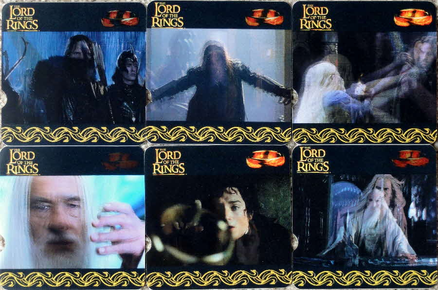 2002 Cheerios Lord of the Rings Action Cards